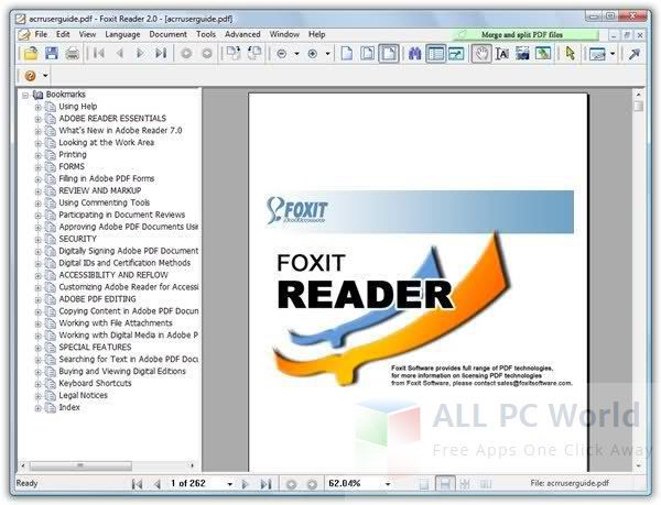 Foxit PDF Reader Review and Features