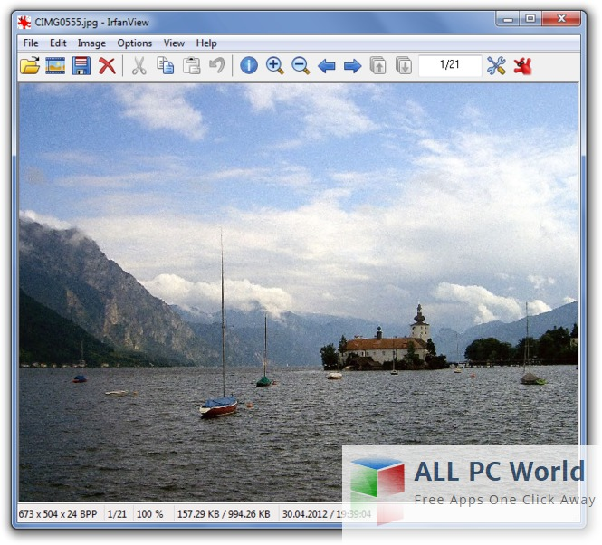 IrfanView 4.42 Review and Features