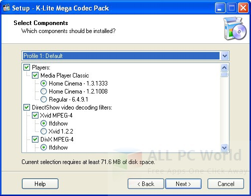 K-Lite Mega Codec Pack 12.4.2 Review and Features