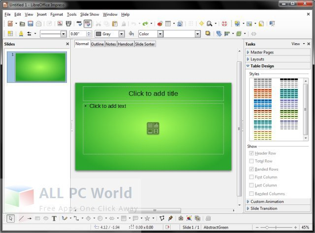 LibreOffice Portable Review and Features