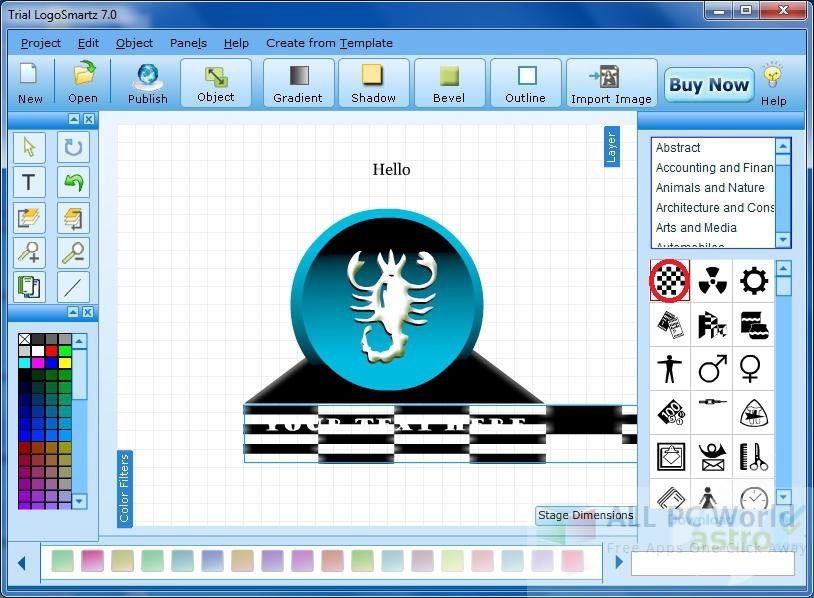 LogoSmartz Logo Creator Review and Features