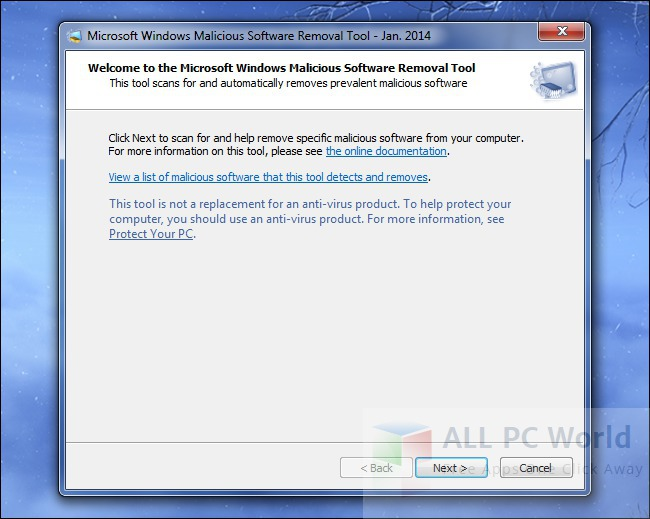 Microsoft Malicious Software Removal Tool Review and Features