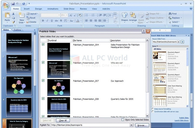 Microsoft PowerPoint Viewer 2007 Review and Features