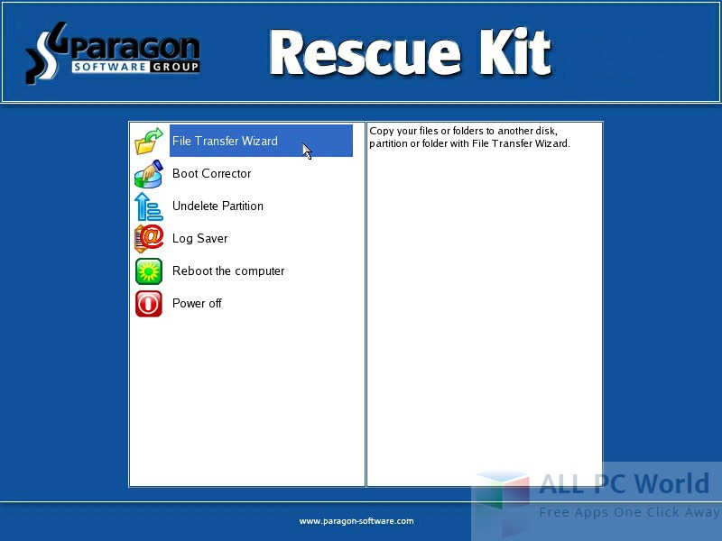 Paragon Rescue Kit 14 Free Edition Review