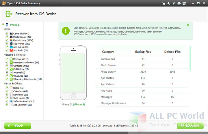 Tipard iOS Data Recovery Free Download