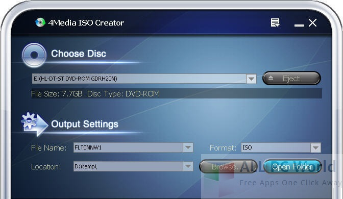 4Media ISO Creator 1.0.21.0827 Review