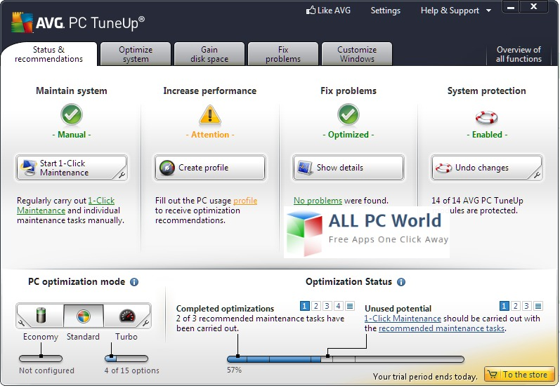 AVG TuneUp Utilities Review
