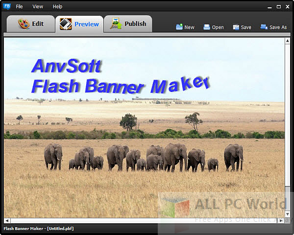 AnvSoft Flash Banner Maker Review