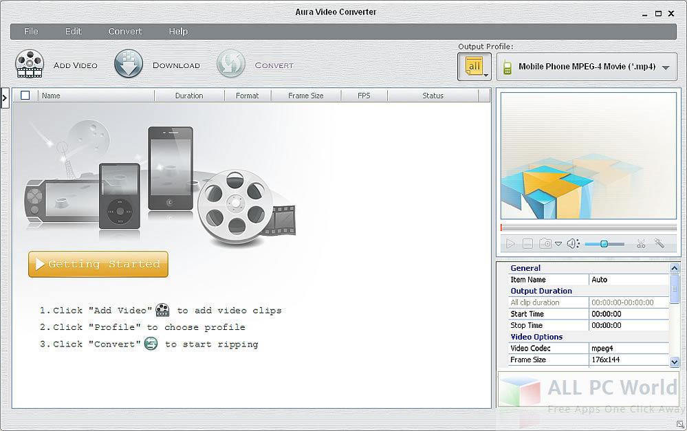 Aura Video Converter Review