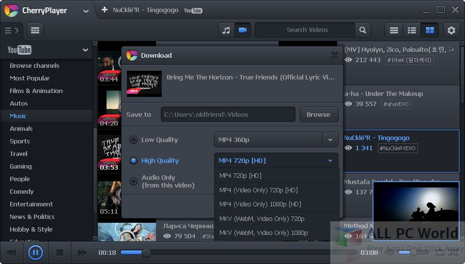 CherryPlayer 2.4.2 Review