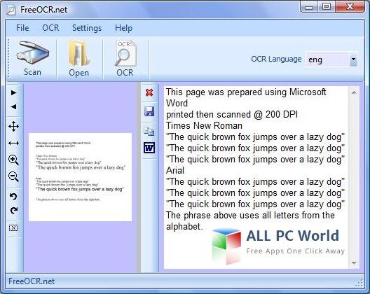 Free OCRv5.4.1 Software Review