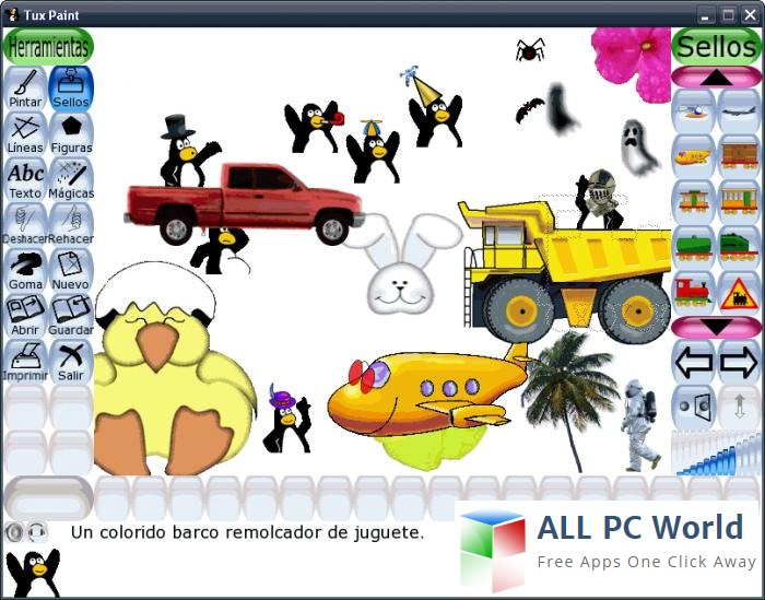 TuxPaint Drawing Software Review