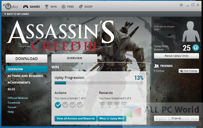 Uplay 25.0 Review
