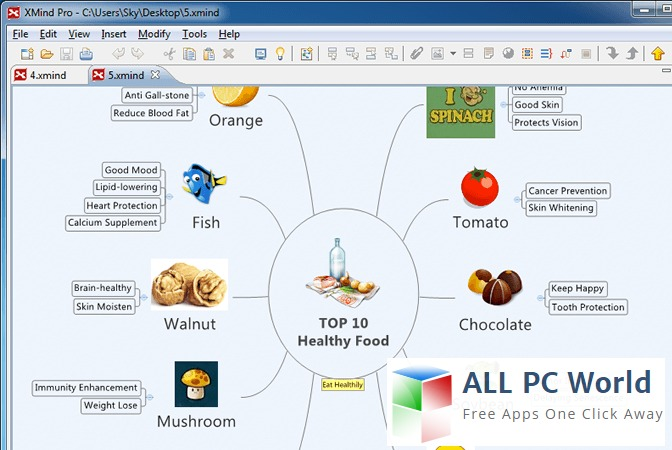 XMind8 Mind Mapping Software Review