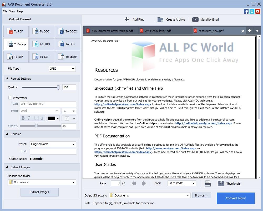 AVS Document Converter 3.1 Review