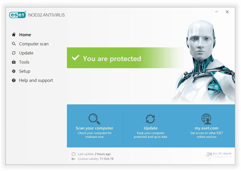 ESET NOD32 Antivirus 14.0 Free Download