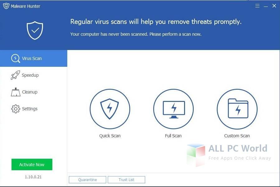 GlarySoft Malware Hunter Review
