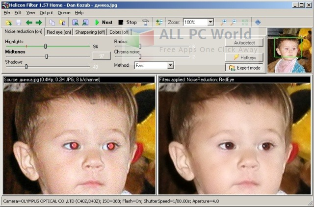 Helicon Filter Image Editing Software Review
