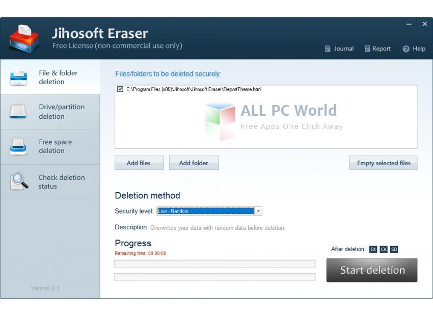 Jihosoft Free Eraser Review