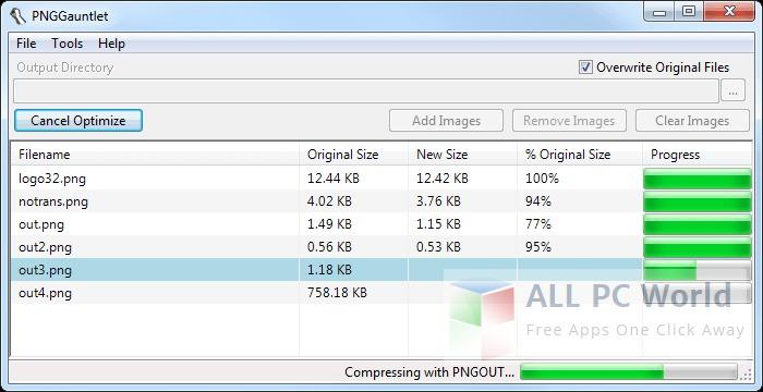PNGGauntlet Image Compressor Review