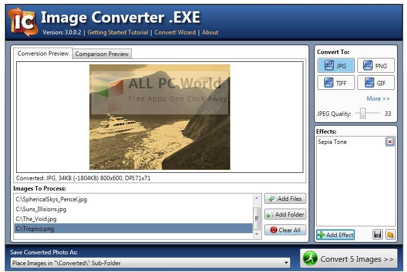 STintercorp Image Converter.EXE Review