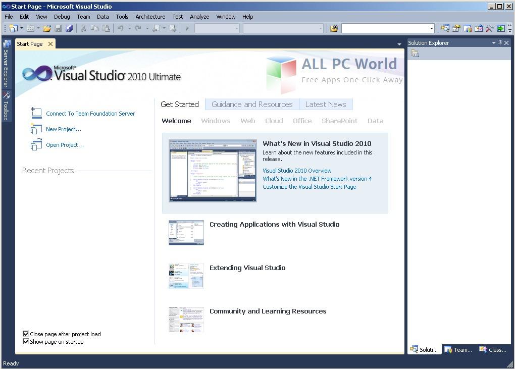 download visual studio 2010 ultimate full version free