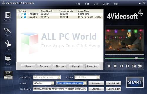 4Videosoft HD Converter Review