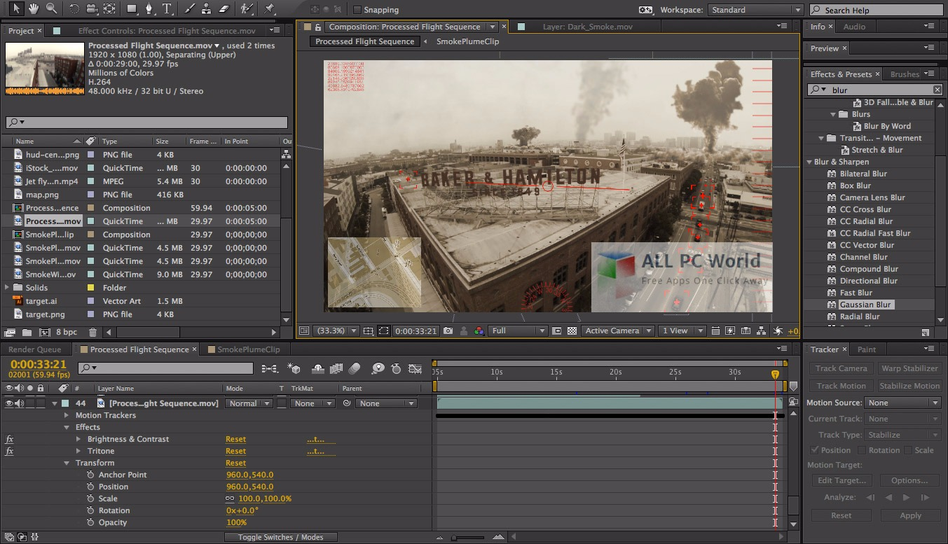 Adobe After Effects CC 2017 v14 User Interface