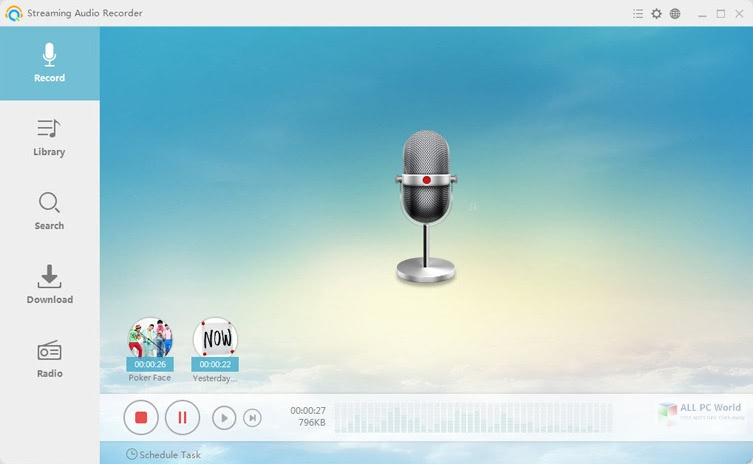 Apowersoft Streaming Audio Recorder 4.3.5 Direct Download Link