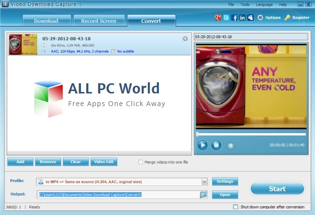 Apowersoft Video Download Capture Review