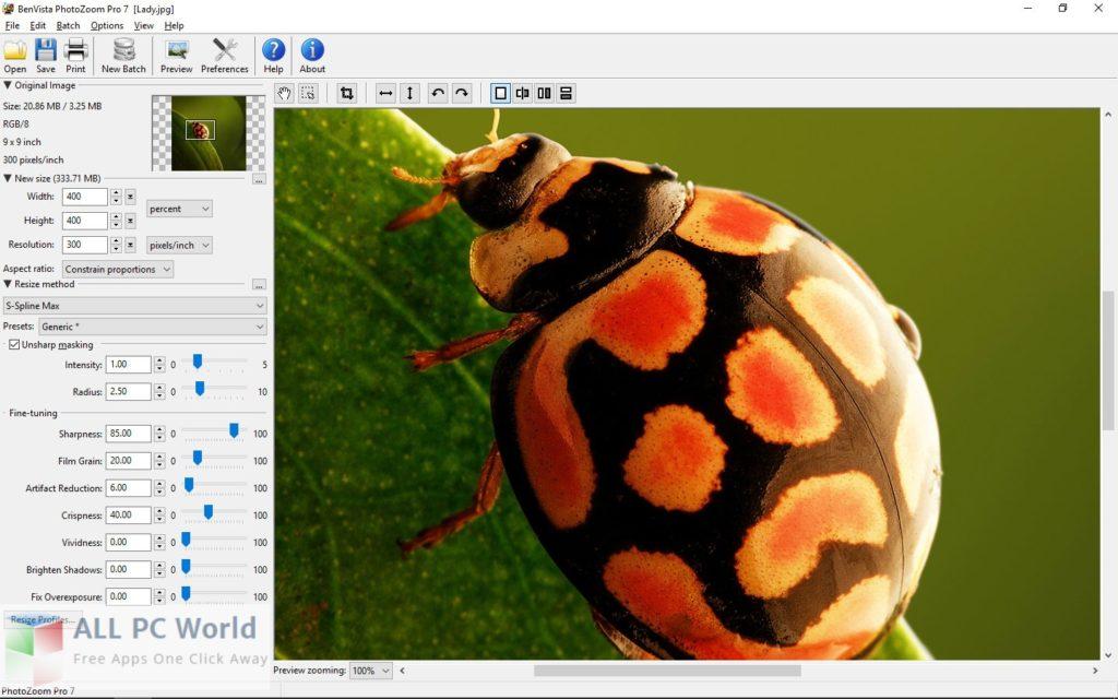 Benvista PhotoZoom Pro 7 Review
