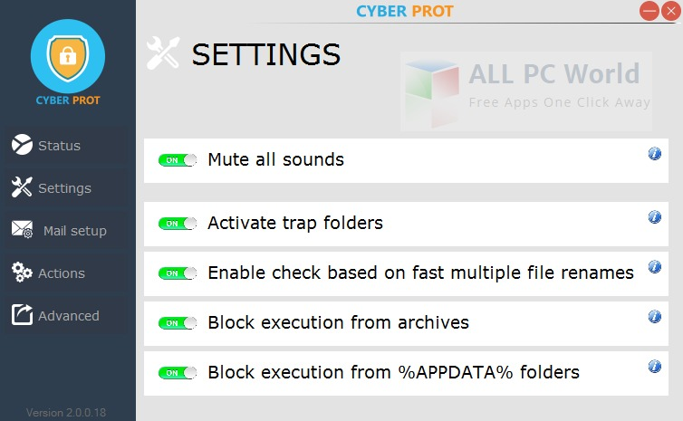 Cyber Prot 2.1.1.22 Review