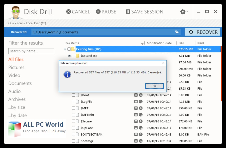Disk Drill 2 Data Recovery Free Download - ALL PC World