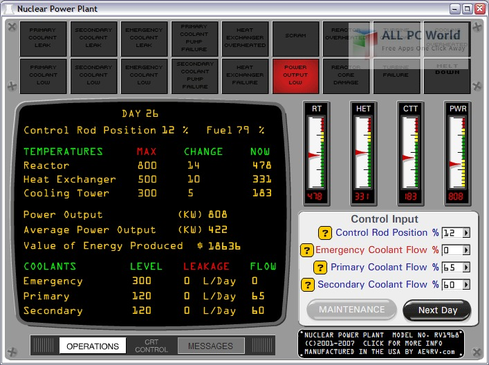Nuclear Power Plant Simulator User Interface_gif
