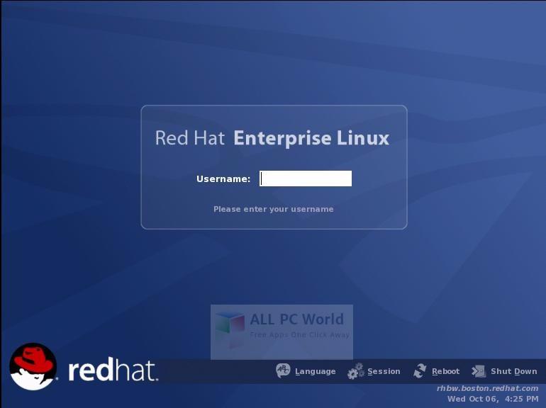 Red Hat Enterprise Linux 8.1 User Interface