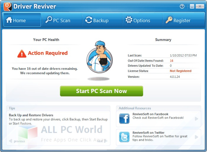 ReviverSoft Driver Reviver Review