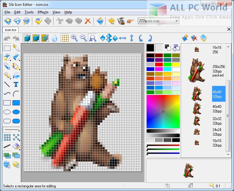 Sibcode Icon Editor for Windows Review