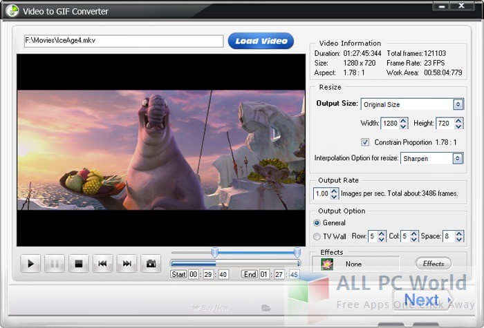 WonderFox Video to GIF Converter Review