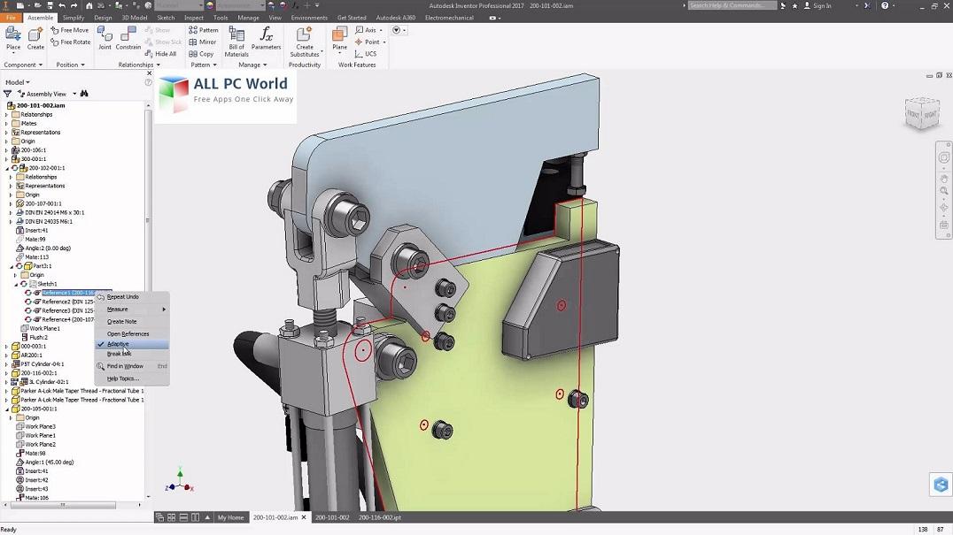Autodesk Inventor 2017 User Interface