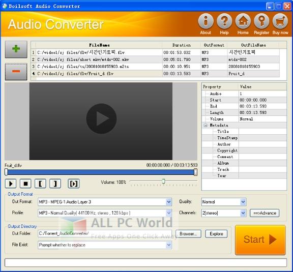 Bolisoft Audio Converter Review