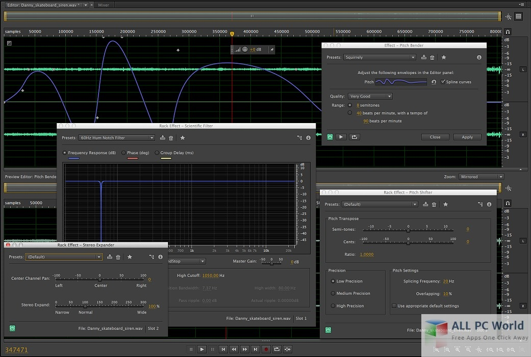 Download Adobe Audition CC 2017 Free