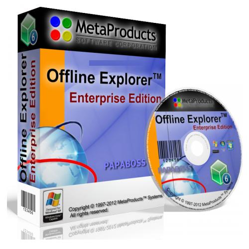 Offline Explorer Enterprise V2.9 Build 1280 - …