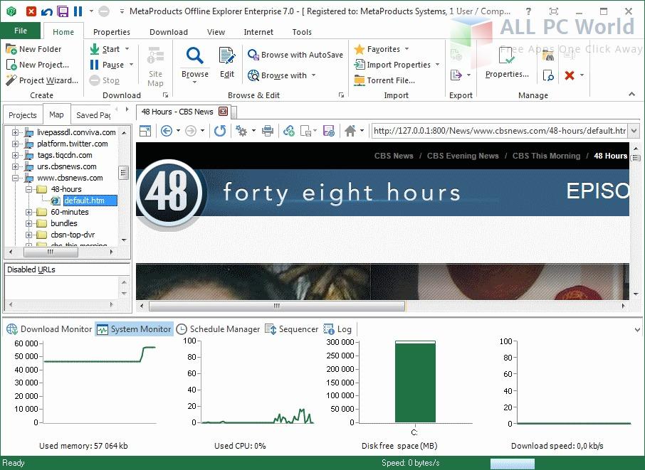 Offline Explorer Enterprise Review
