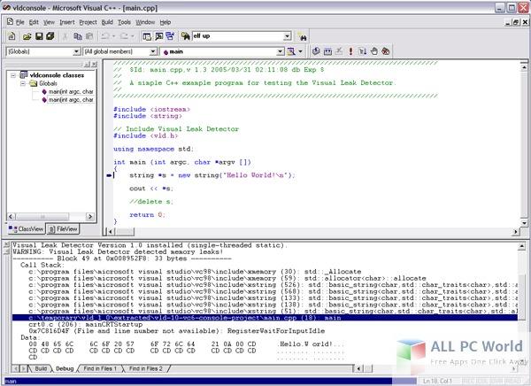microsoft visual c++ 6.0 enterprise edition free download