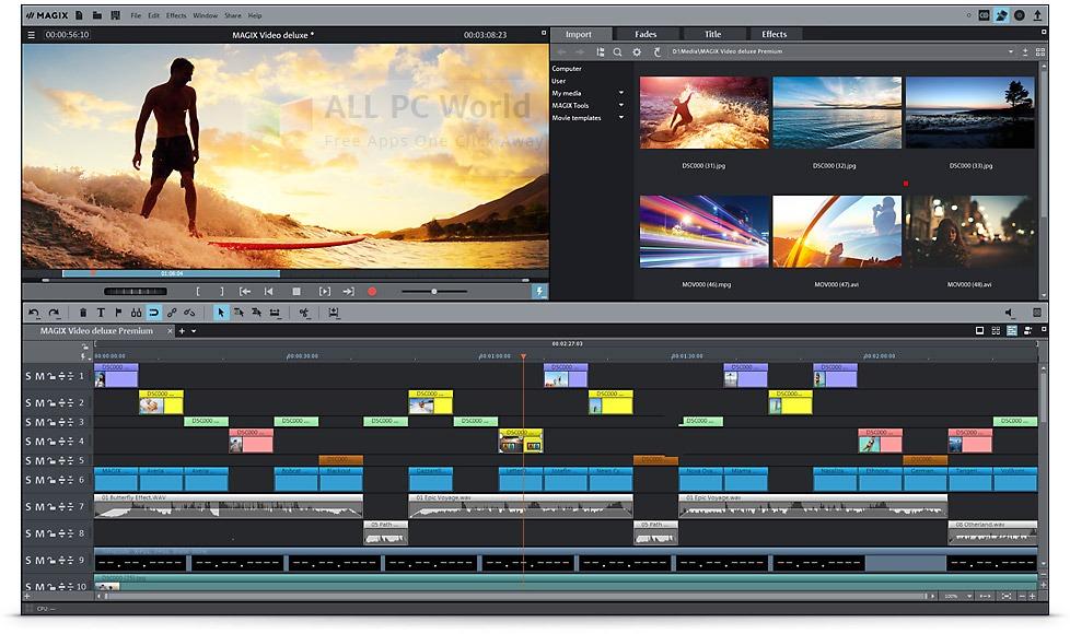 MAGIX Movie Edit Pro 2015 Premium Review