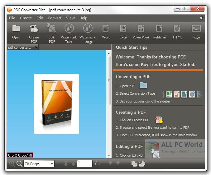 PDF Converter Elite 5 Review