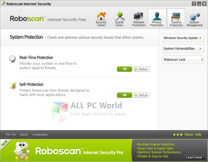 Roboscan Internet Security Pro Review
