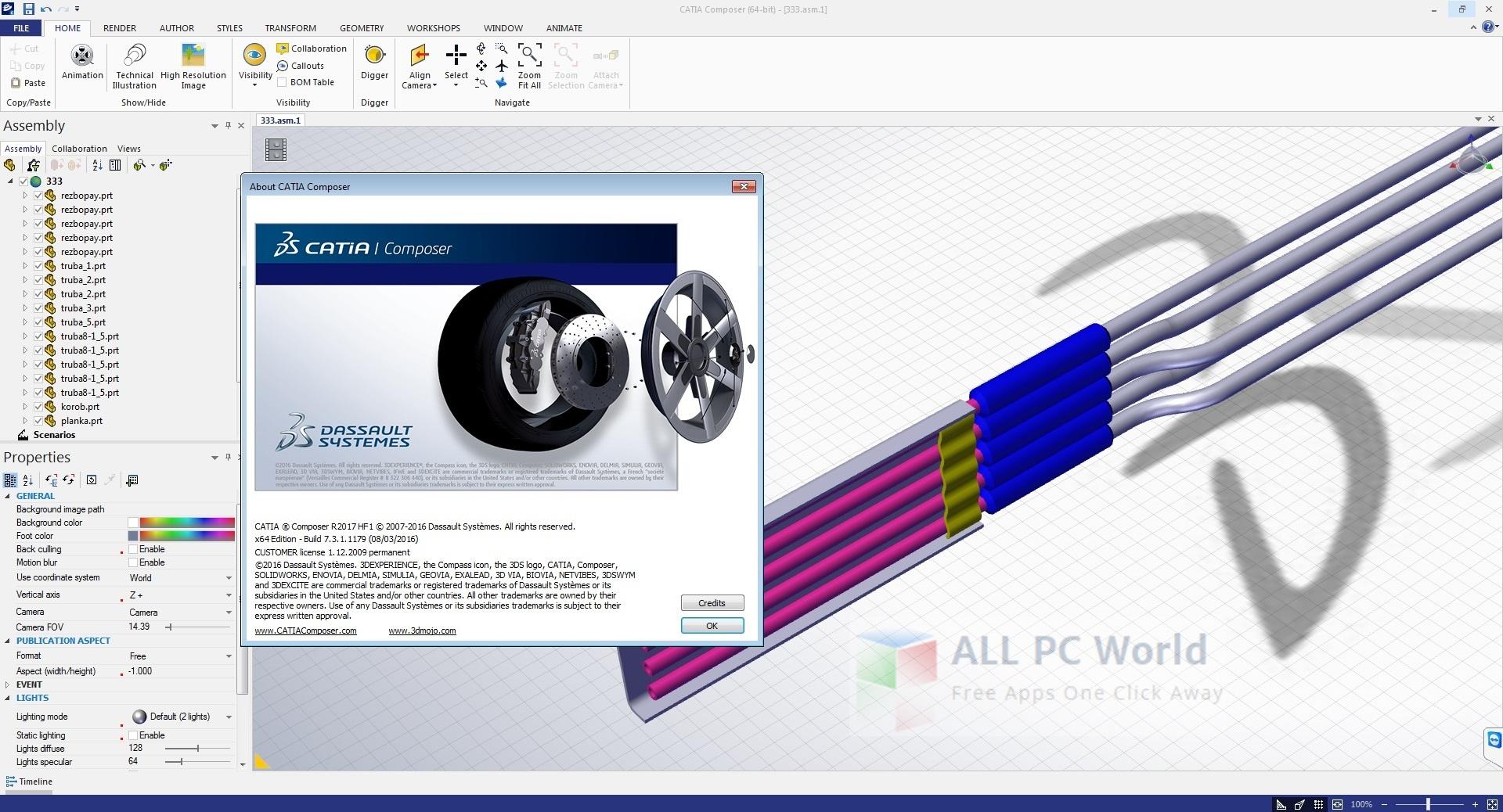 DS CATIA Composer R2017 HF1 Review