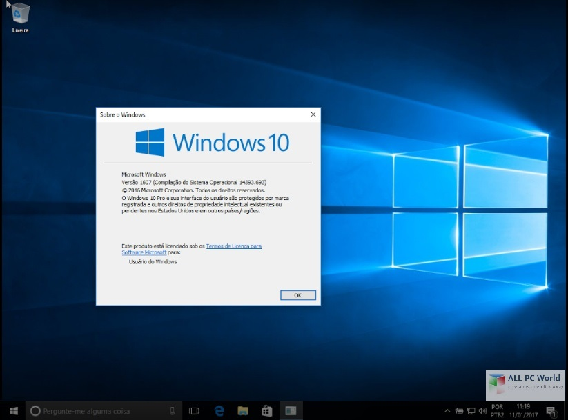 Download Microsoft Windows 10 Professional 2017 Free