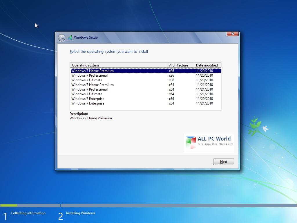 Download Windows 7 AIO Mar 2017 Updates